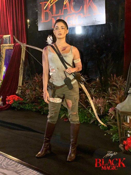 Jane De Leon Black Magic Halloween Party 2019