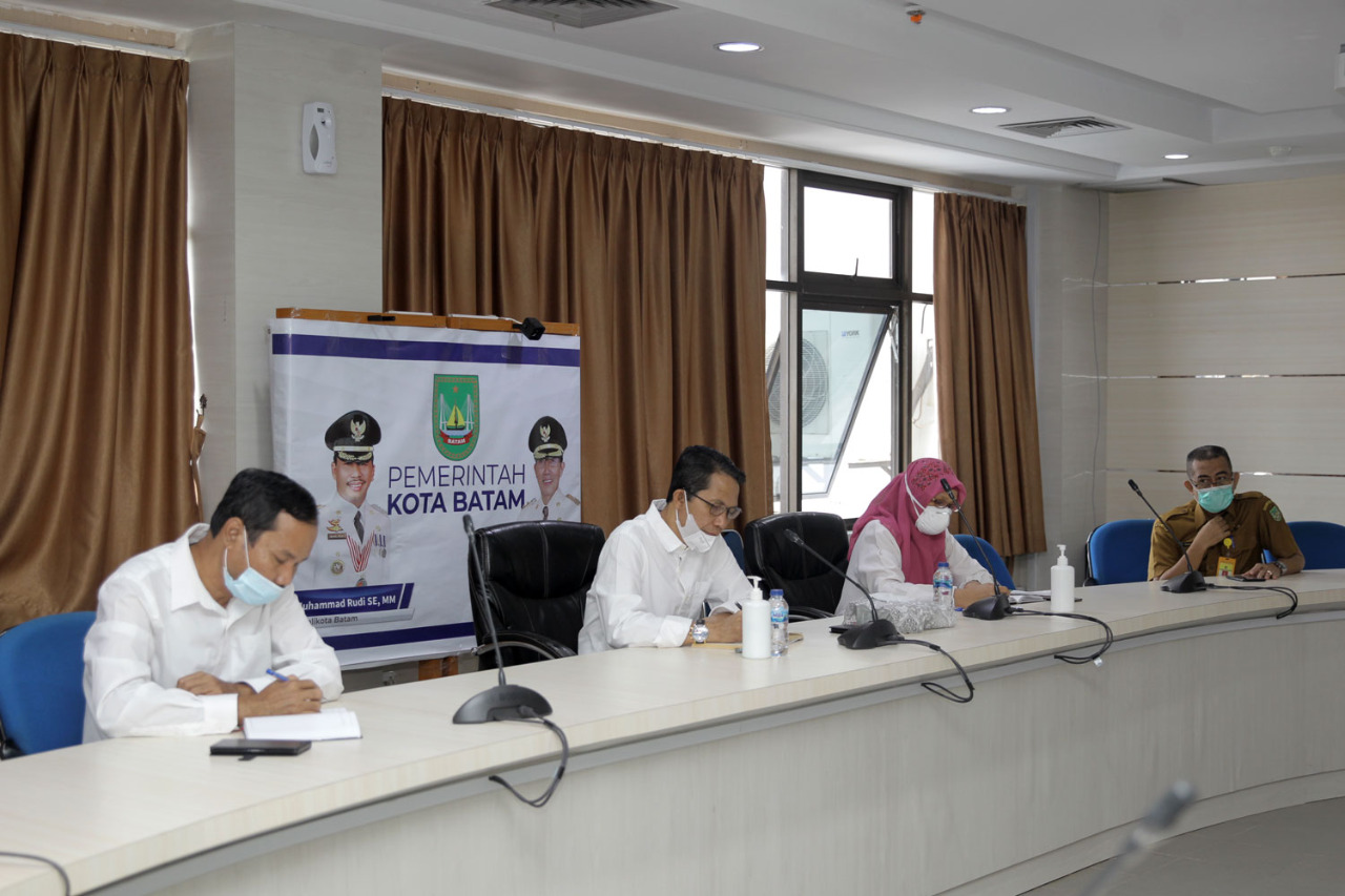 Amsakar Achmad : Batam Siap Menyukseskan Program Vaksinasi Covid-19
