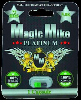 Magic Mike Platinum Male Enhancement 1-Count Blister Pack