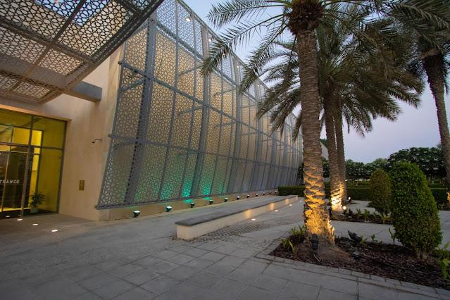 Esterno del Manarat al Saadiyat-Abu Dhabi