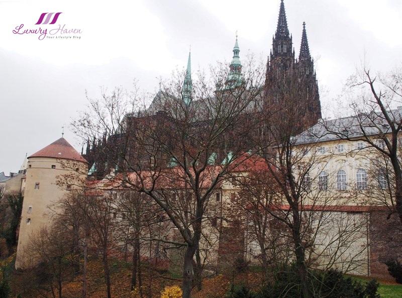 czech republic prague castle powder tower mihulka