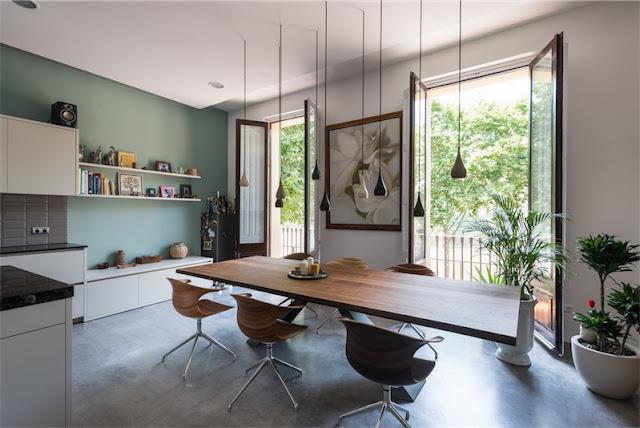 cocina y comedor en un mismo espacio chicanddeco