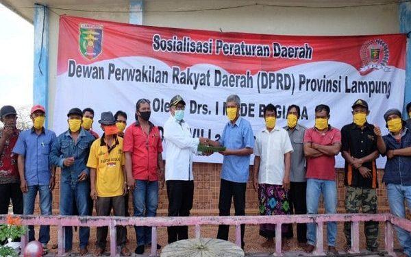 Wakil Ketua Komisi II DPRD Prov Lampung Sosperda