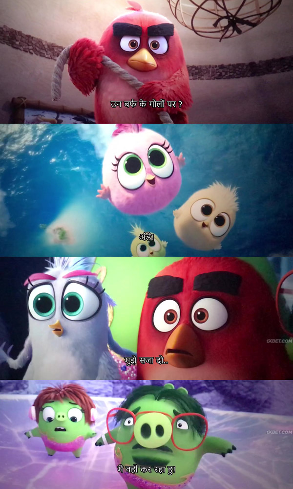 Download The Angry Birds Movie 2 2019 English HDTS 480p 350MB HindiSubs movie