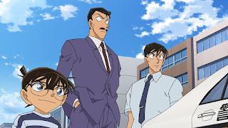 名探偵コナン アニメ 1016話 毛利小五郎 高木渉   Detective Conan Episode 1016