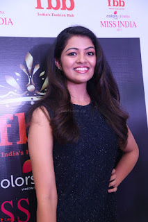Model Shreya Kamavarapu in Short Black Dress at FBB Miss India 2017 finalists 050.JPG