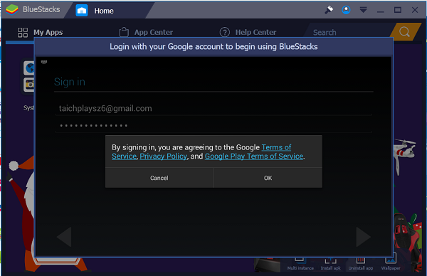 """Tải Bluestacks """"Phần mềm giả lập Android"""" cho windows 7 8 10 8.1 h"""