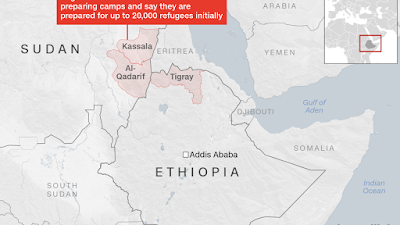 200,000 refugees from Ethiopia conflict