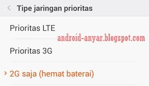 Cara memperkuat sinyal 2G GSM Android tanpa root