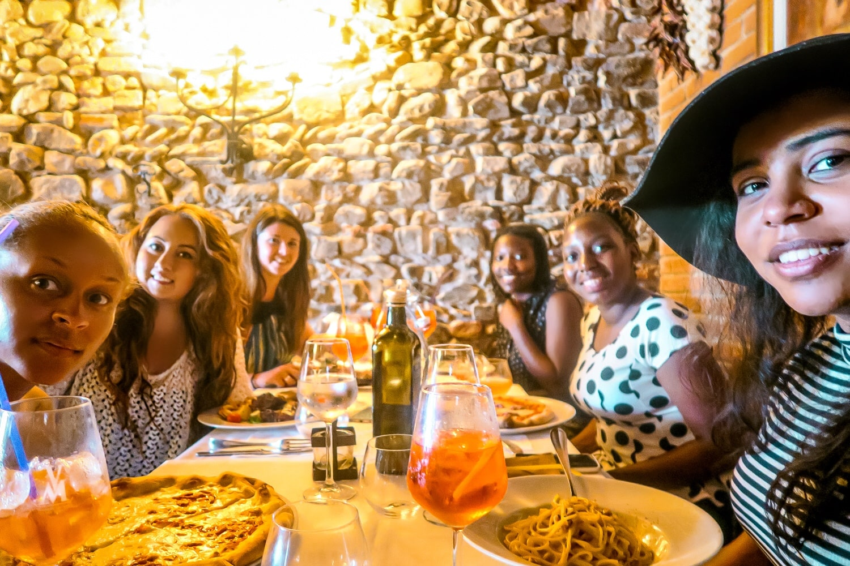 Florence Italy Dining, Contiki Tours, Contiki Europe, Diversity in Travel