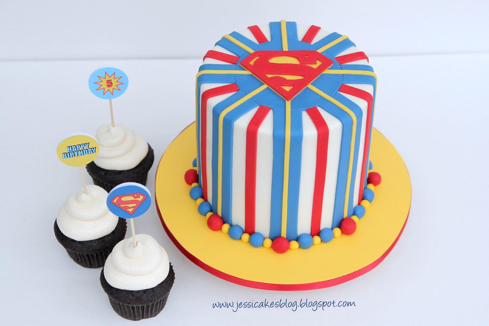 Superman Cake Jessica Harris Cake Design