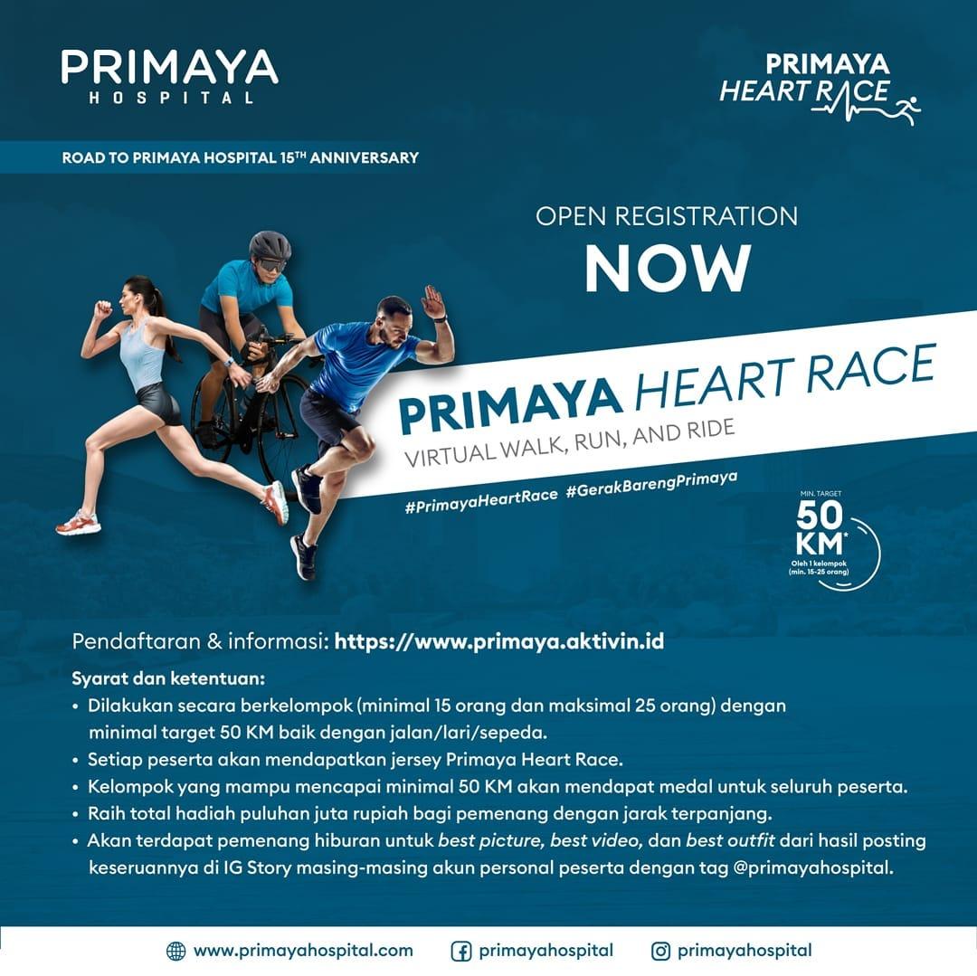 Primaya Heart Race • 2021