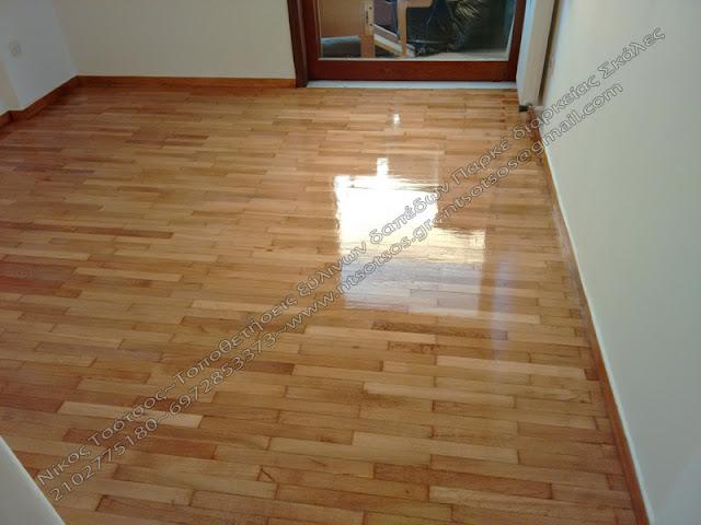 Σωστή συντήρηση ξύλινου δαπέδου