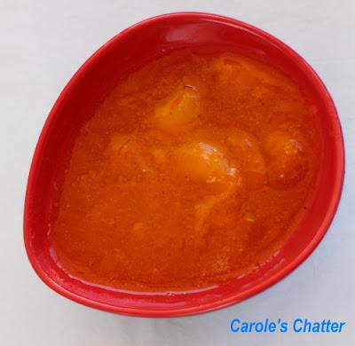 Carole's Chatter: Lower Sugar Apricot Jam