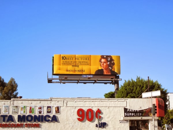 American Hustle Amy Adams Oscar billboard