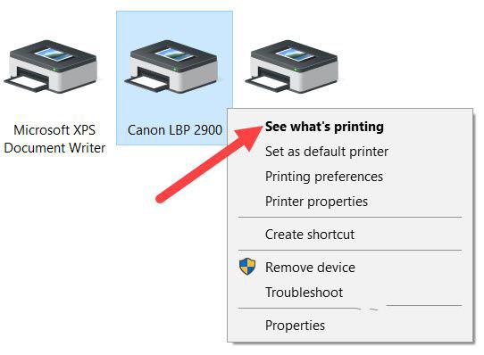 Hướng dẫn một số lỗi máy in Canon 2900 không in được