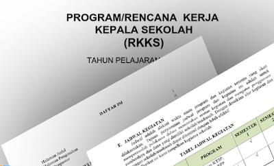 Program Kerja Kepala Sekolah SD, SMP, SMA, SMK Format Excel Tahun 2018