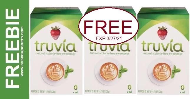 FREE Truvia Sweetener CVS Deals