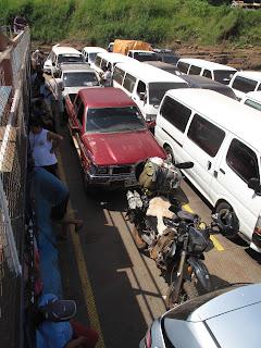 Ferry que cruza a Paraguay