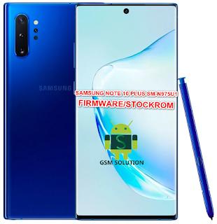 Samsung Note 10 Plus SM-N975U1 Firmware/Stock Rom/Flash file Download