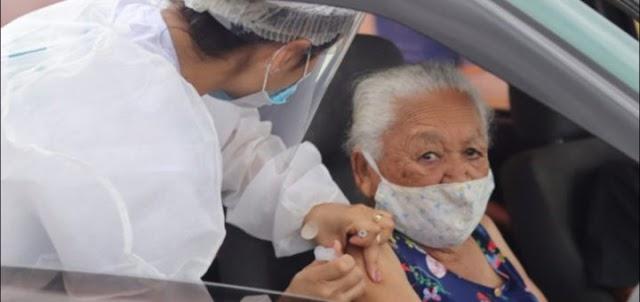 A Prefeitura de Águas Lindas de Goiás abre agendamento para vacinação de idosos de 73 anos ou mais