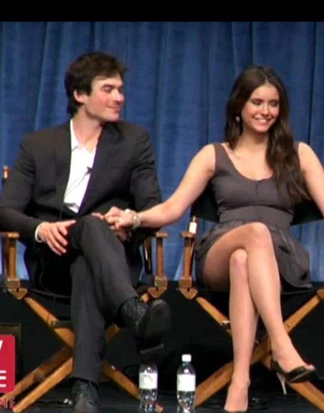 ian somerhalder and nina dobrev interview about dating tips