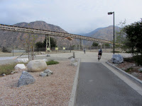 The Azusa Rockery & Geology Park - San Gabriel River Bike Trail access point
