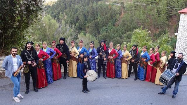 Ποντιακοί Χοροί στο Φαράγγι Ρεντεζέλα Αρκαδίας