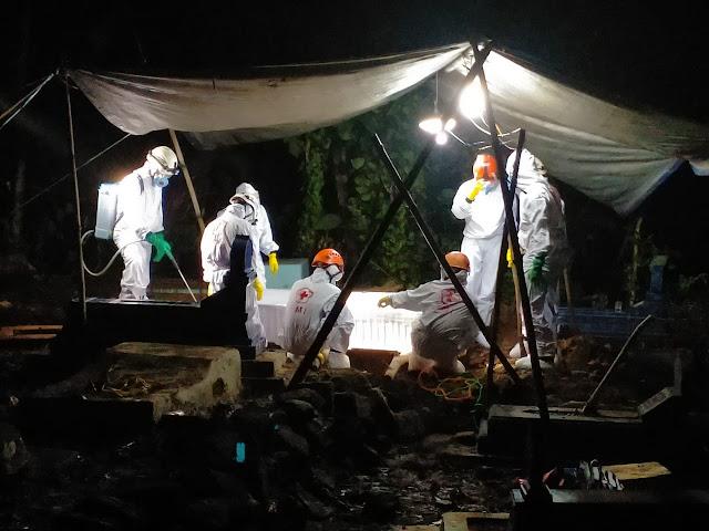 Pemakaman Jenazah Yang Meninggal Di RS Panti Rahayu Kelor