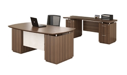 Mayline Sterling SL9 Desk Typical