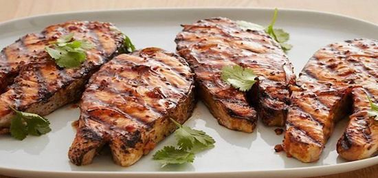 Grilled Bonito Turkish Cooking