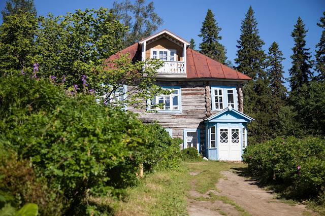 Соловецкий ботанический сад.