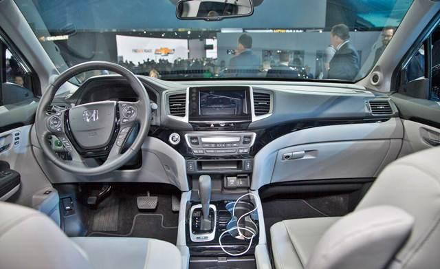 2017 Honda Ridgeline Redesign