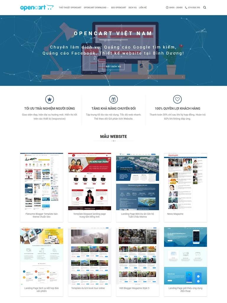 Flatsome Blogger Theme bán giao diện và thiết kế website