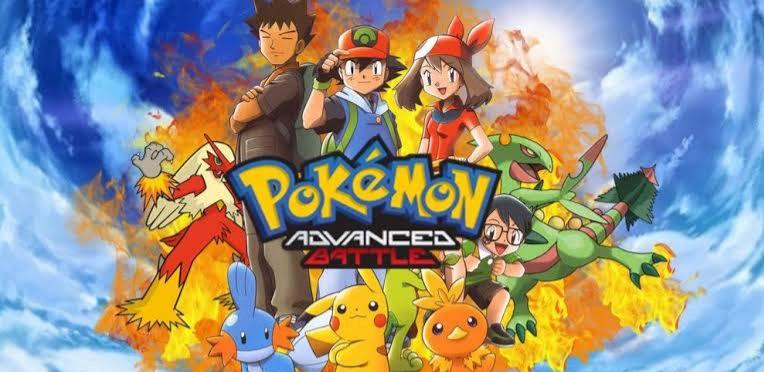 Pokemon Season 08 Advance Battle images in 720p