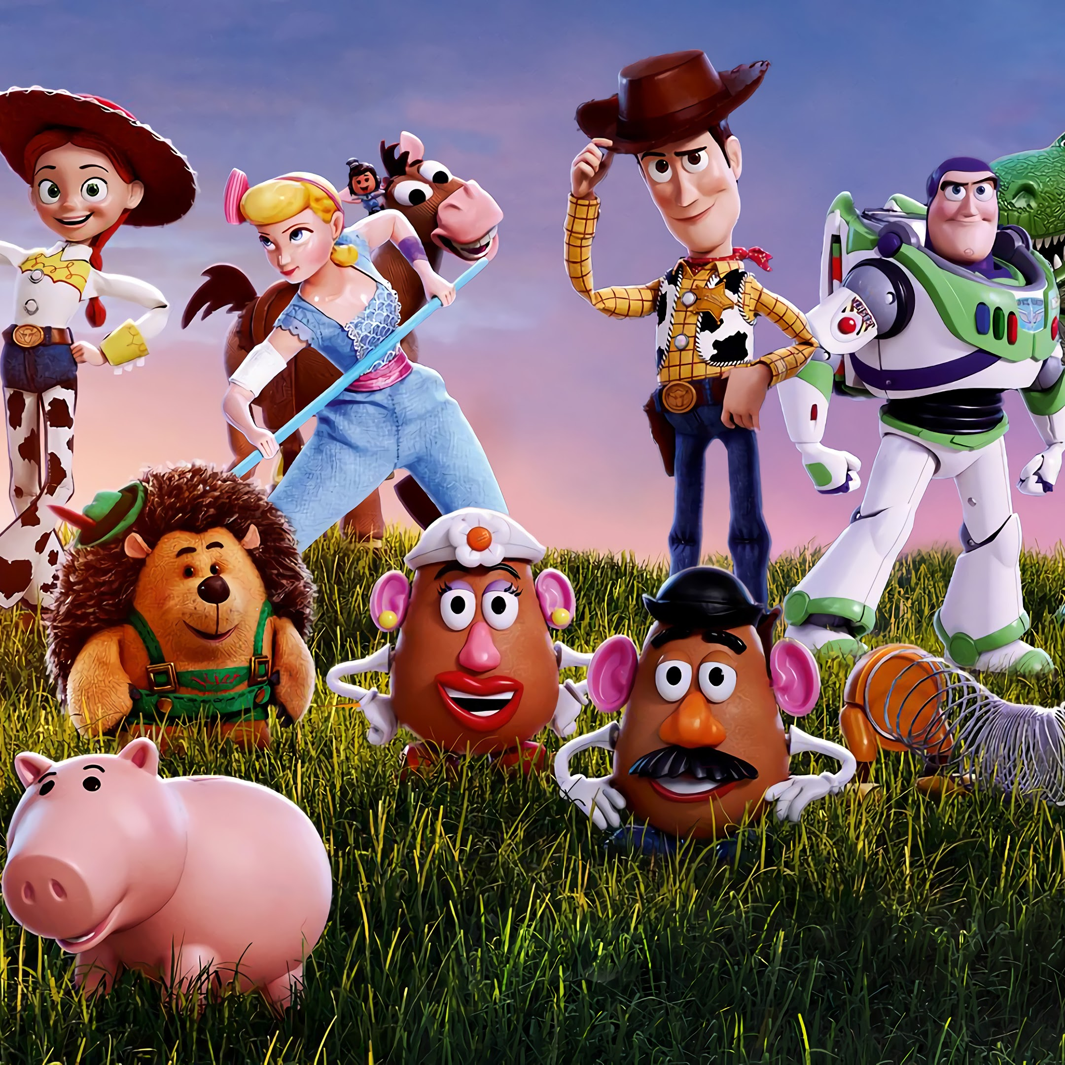 Toy Story 4, Characters, 4K, #18 Wallpaper