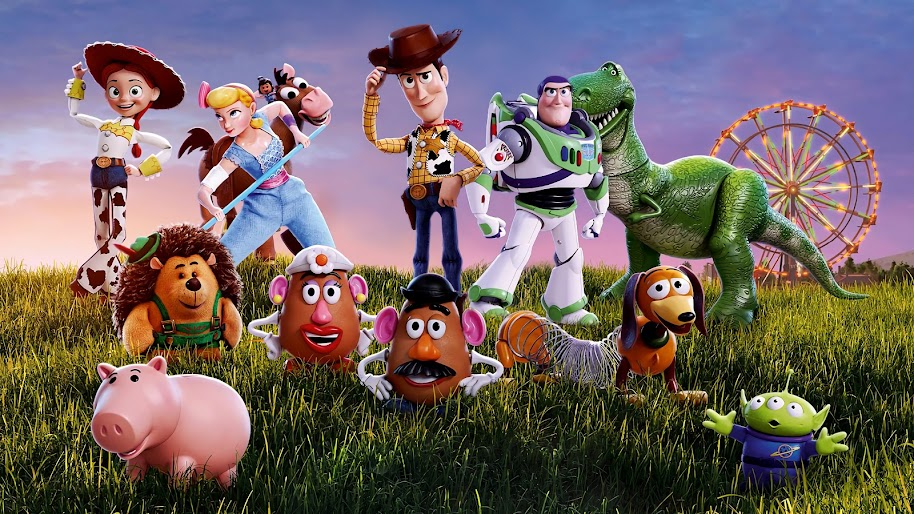 Toy Story 4 Characters 4k Wallpaper 18