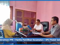 """Rekrutmen PPK """"Komisi Pemilihan Umum Kabupaten Pesisir Selatan - Pilkada Tahun 2020"""""""