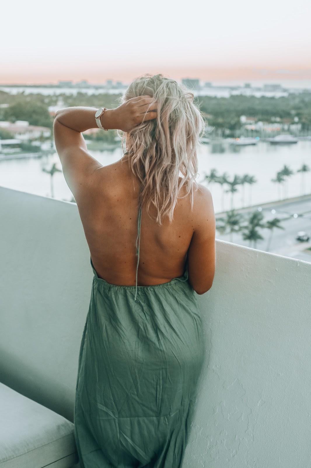 backless asos dress