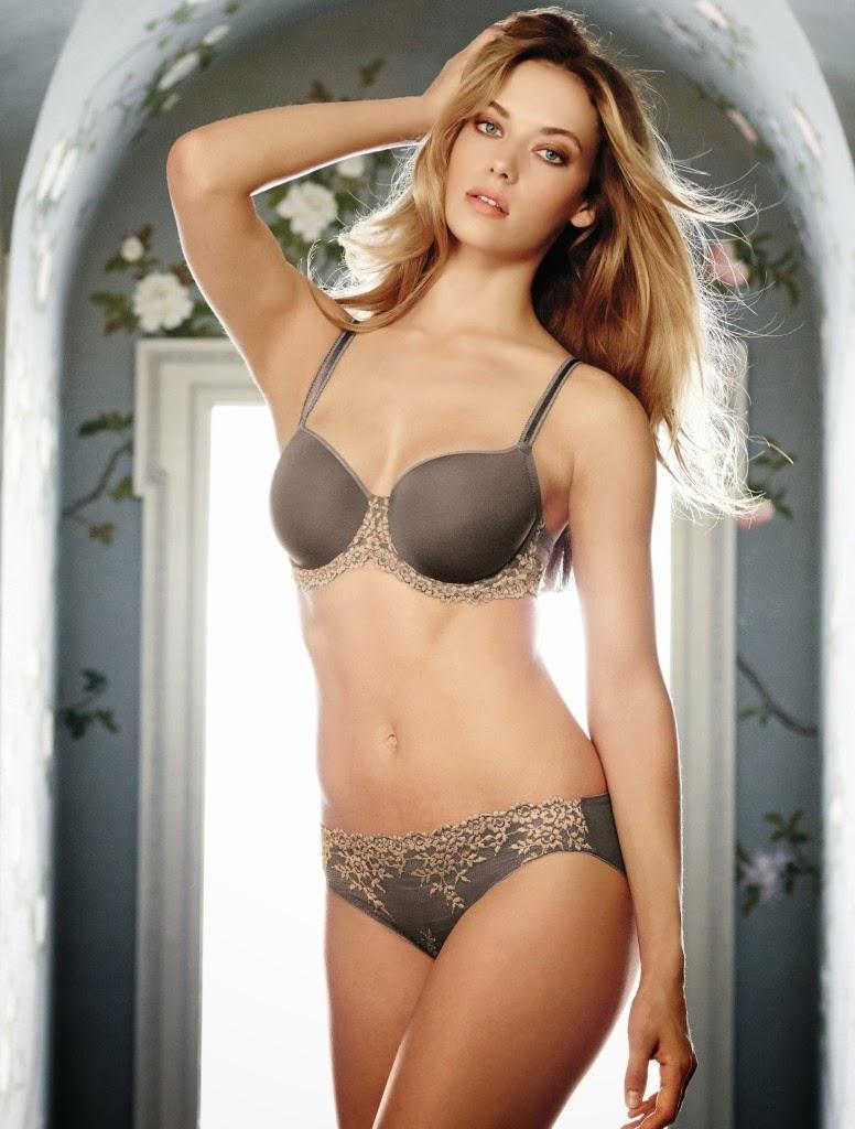 Hannah Ferguson - Wacoal Sexy Lingerie Model - Lingerie Models-4296