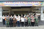 Polres Pematangsiantar Gelar Apel Ops Ketupat Toba 2021 Wali Kota Bacakan  Amanat Kapolri