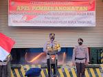 Kapolda Riau Irjen Agung Setya Lepas Keberangkatan 100 Pasukan BKO Papua