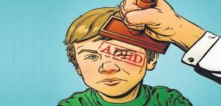 תיוג ילד ב- ADHD - אילוסטרציה
