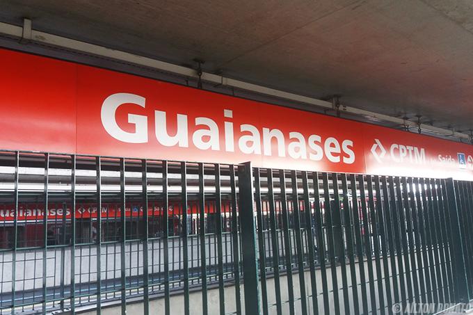 Ampliação no número de catracas reduz filas na estação Guaianases da CPTM