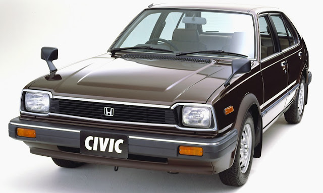Honda Civic 5-door 1500 EX JP-spec 1981-1982