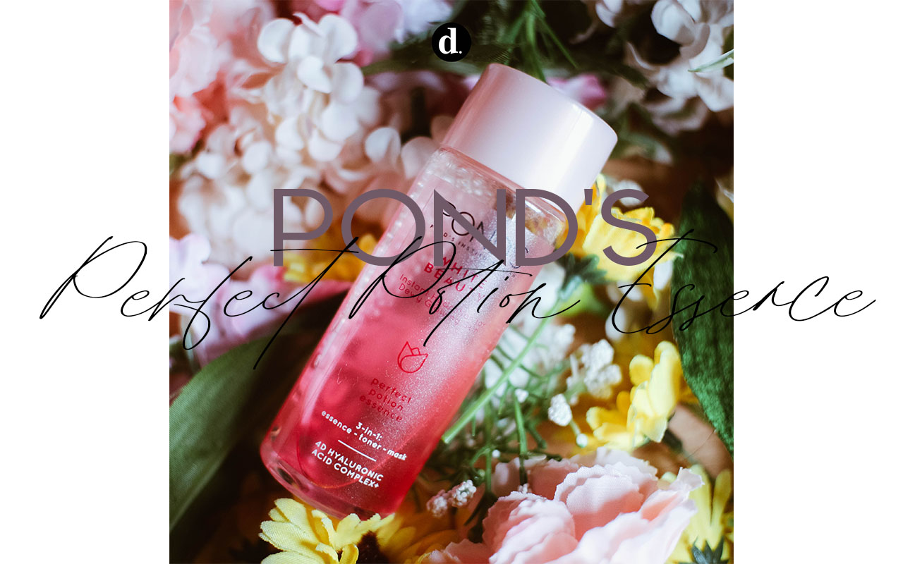 [REVIEW] Ponds 3 in 1 Perfect Potion: Toner, Essence dan Masker Dalam 1 Produk