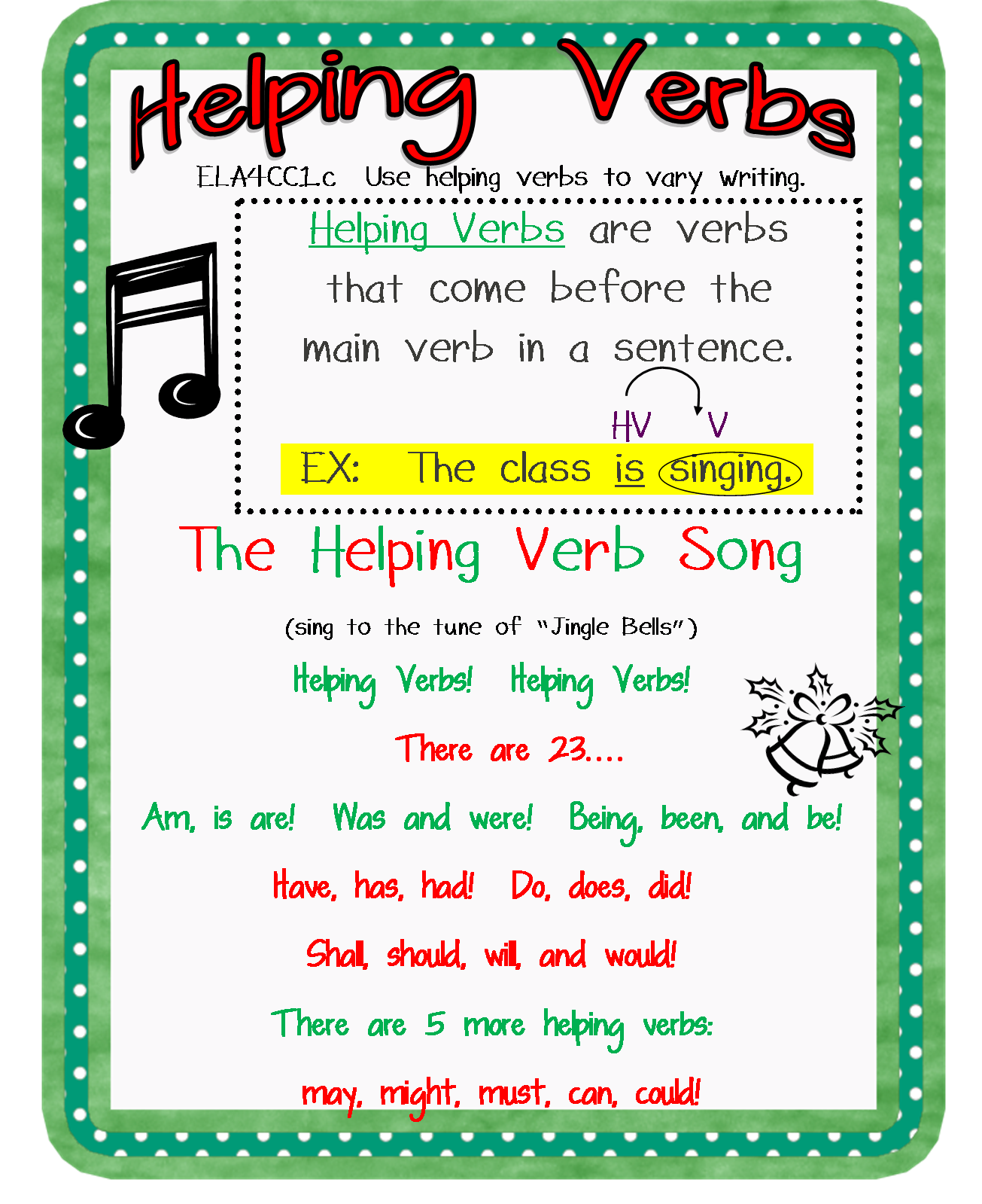 Helping Verbs Ace 3rd Grade - Lessons - Blendspace [ 1599 x 1305 Pixel ]