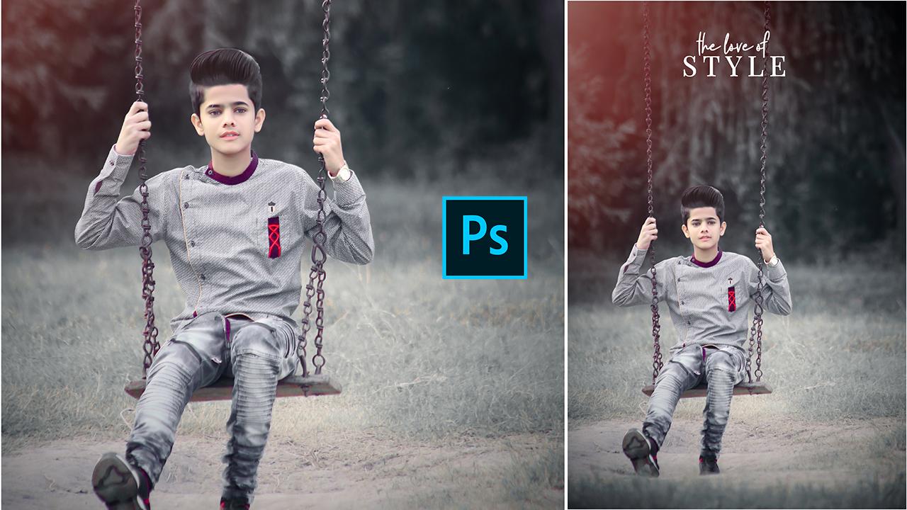 How To Edit Dark Moody Photos In Photoshop CC 📷 🔥   Dark Moody Color Camera Raw Photoshop Tutorial