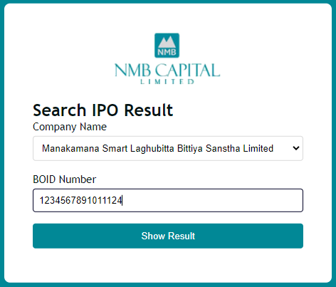 How to check IPO Result in Nepal