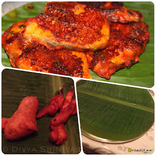 fish, bajji, banana leaf - beyond madras - restaurant review